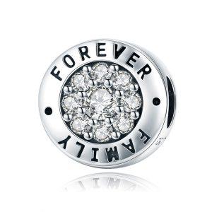Forever-family-család-mindörökké-cirkónia-köves-S925-sterling-ezüst-charm-pandora-stílusú-karkötőhöz-medál-nyaklánchoz