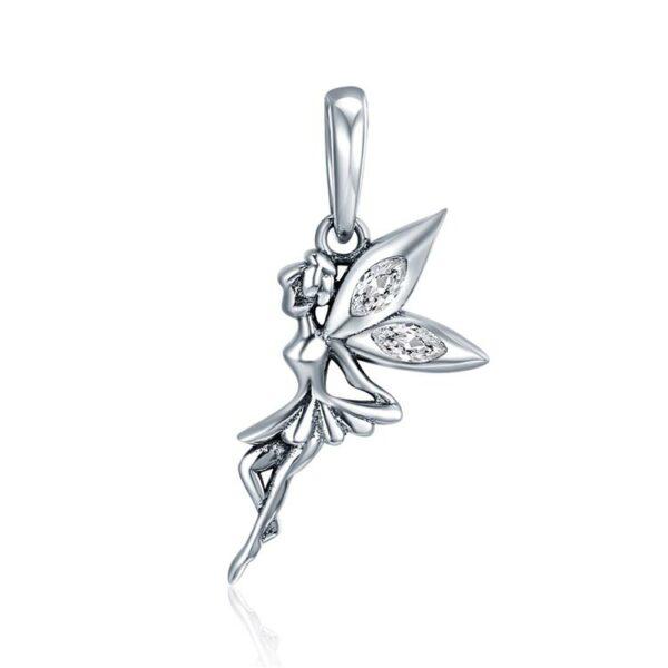 MyCharm Virág Tündér 925 Ezüst Charm Medál