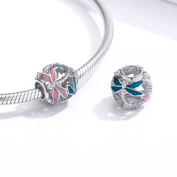 mycharm-szines-pillango-925-ezust-charm