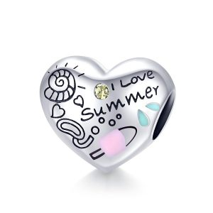 MyCharm I Love Summer 925 Ezüst Charm